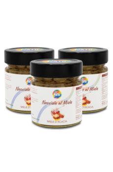 Nocciole in miele d'acacia
